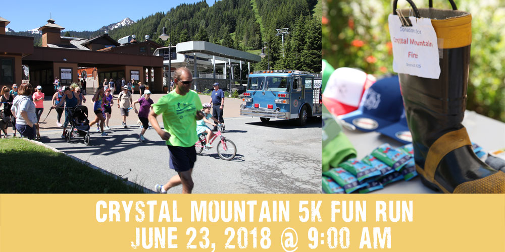 summer kick off 5k fun run crystal mountain hotels